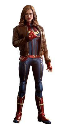 Picture of Captain Marvel Figura Movie Masterpiece 1/6 Captain Marvel Deluxe Ver. 29 cm
