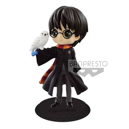 Picture of Figura Q Posket Harry Potter & Hedwig II (Normal Colour Version) 14 cm.