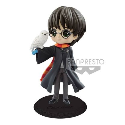 Picture of Figura Q Posket Harry Potter & Hedwig II (Light Colour Version) 14 cm