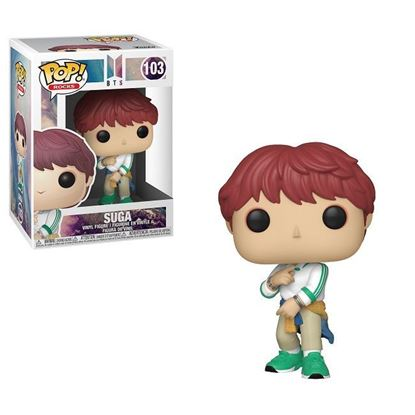 Picture of BTS POP! Rocks Vinyl Figura Suga 9 cm