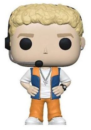 Picture of NSYNC POP! Rocks Vinyl Figura Justin Timberlake 9 cm.