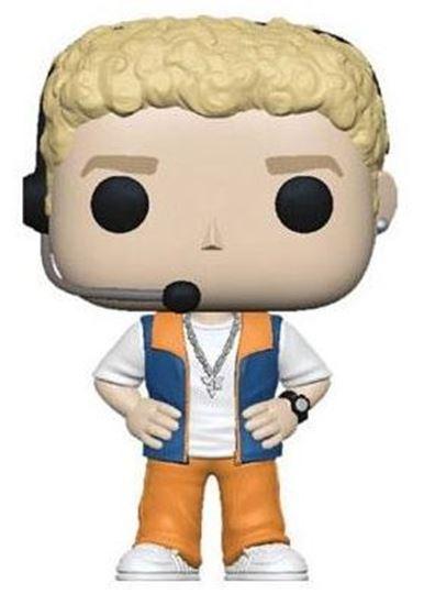 Picture of NSYNC POP! Rocks Vinyl Figura Justin Timberlake 9 cm.