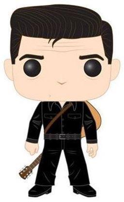 Picture of Johnny Cash POP! Rocks Vinyl Figura Johnny Cash in Black 9 cm.