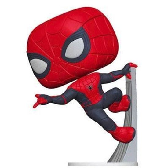 Picture of Spider-Man: Far From Home POP! Movies Vinyl Spider-Man (Upgraded Suit) 9 cm