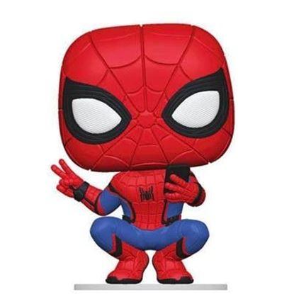 Picture of Spider-Man: Lejos de Casa POP! Movies Vinyl Spider-Man (Hero Suit) 9 cm
