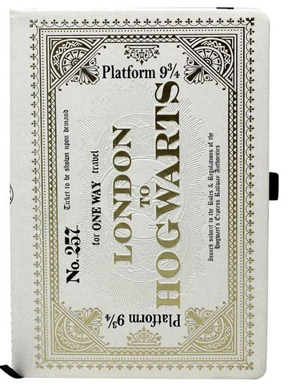 Picture of Cuaderno A5 Billete Hogwarts Express - Harry Potter
