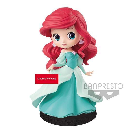 Picture of Figura Q Posket Ariel Princess Dress (Green Dress) 14 cm
