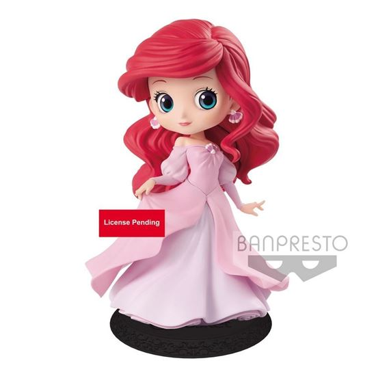 Picture of Figura Q Posket Ariel Princess Dress (Pink Dress) 14 cm