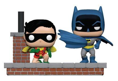 Picture of Batman 80th Pack de 2 POP Moment! Vinyl Figuras Look Batman & Robin (1964) 9 cm.