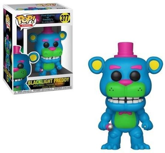 Picture of Five Nights at Freddy's Blacklight POP! Games Vinyl Figura Blacklight Freddy 9 cm
