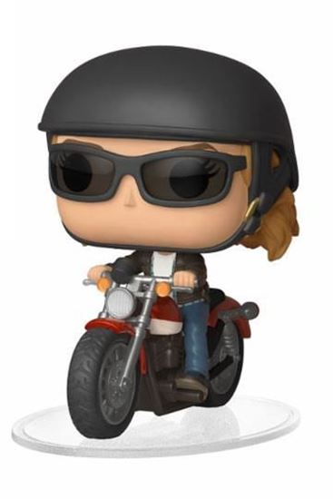 Picture of Captain Marvel POP! Rides Vinyl Figura Carol Danvers on Motorcycle 15 cm