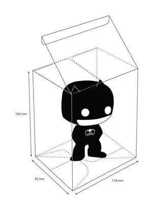 Picture of Ultimate Guard Protective Case caja protectora para figuras de Funko POP!