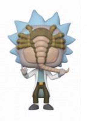 Picture of Pop! Cartoons: Rick and Morty - Rick with Facehugger LE
