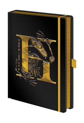 Picture of Libreta Premium A5 Hufflepuff - Harry Potter
