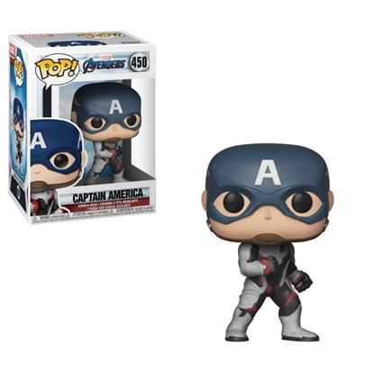 Picture of Los Vengadores Endgame Figura POP! Movies Vinyl Captain America 9 cm.