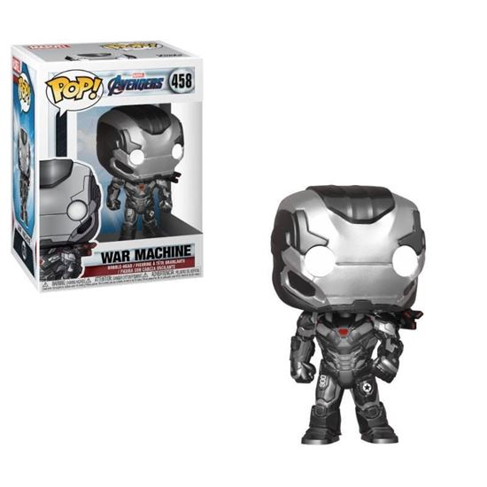 Foto de Los Vengadores Endgame Figura POP! Movies Vinyl War Machine 9 cm.