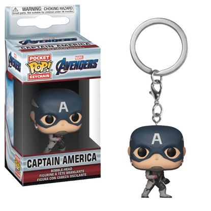 Picture of Los Vengadores Endgame Llavero Pocket POP! Vinyl Captain America 4 cm.