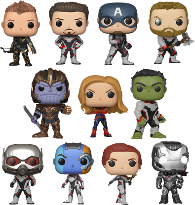 Picture of Pack 11 Figuras Pop! Los Vengadores Endgame 9 cm