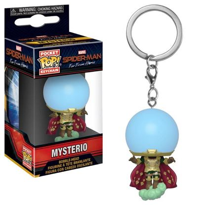 Picture of Spider-Man: lejos de casa Llavero Pocket POP! Vinyl Mysterio 4 cm.