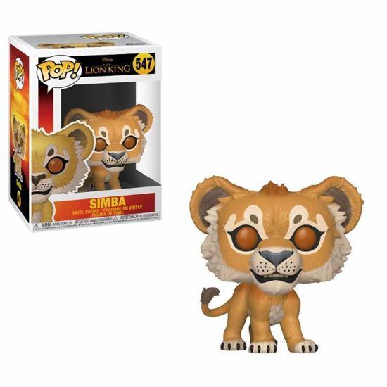 Picture of El rey león (2019) POP! Vinyl Figura Simba 9 cm