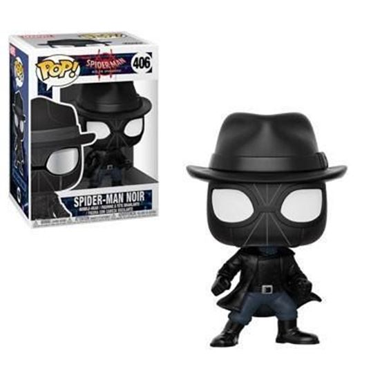 Picture of Spider-Man Animated POP! Marvel Vinyl Figura Spider-Man Noir 9 cm.