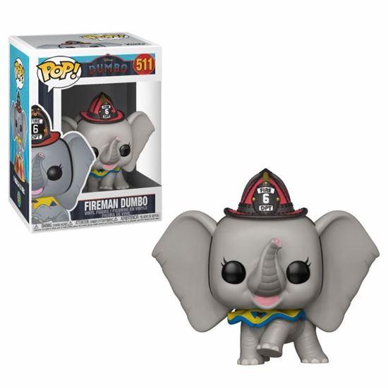 Picture of Dumbo POP! Vinyl Figura Fireman Dumbo 9 cm.