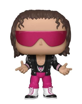 Picture of WWE POP! Vinyl Figura Bret Hart with Jacket 9 cm DISPONIBLE APROX: SEPTIEMBRE 2019