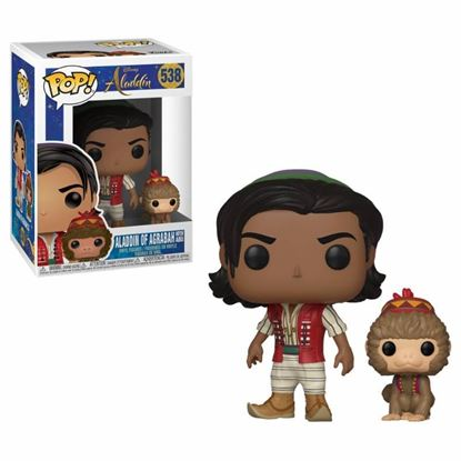 Picture of Aladdin POP! Disney Vinyl Figura Aladdin & Abu 9 cm.
