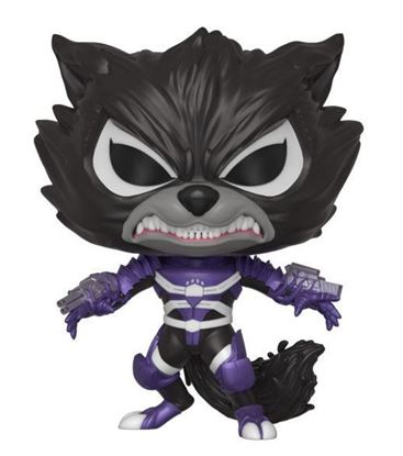 Picture of Marvel Venom POP! Marvel Vinyl Figura Venomized Rocket Raccoon 9 cm