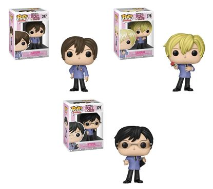 Picture of Pack 3 figuras POP! Ouran High School Host Club  9 cm