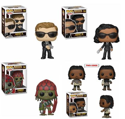 Picture of Pack 4 Figuras Pop! Hombres de Negro 4 9 cm. DISPONIBLE APROX: AGOSTO 2019