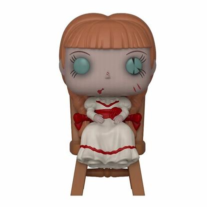 Picture of The Conjuring POP! Movies Vinyl Figura Annabelle in Chair 9 cm.