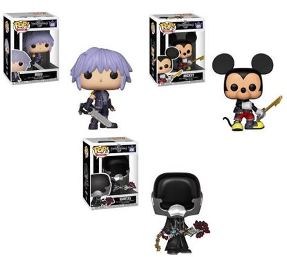 Picture of Pack 3 figuras POP! Kingdom Hearts 3 9 cm