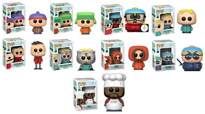 Picture of Pack 9 figuras POP! South Park 9 cm