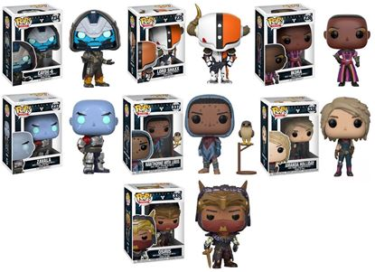 Picture of Pack 7 figuras POP! Destiny 9 cm