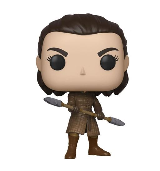 Picture of Juego de Tronos POP! Television Vinyl Figura Arya w/Two Headed Spear 9 cm