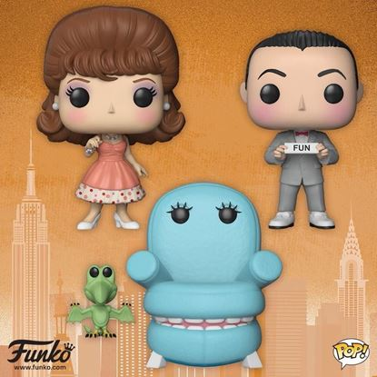 Picture of Pee-wee's Playhouse POP! TV Vinyl PACK