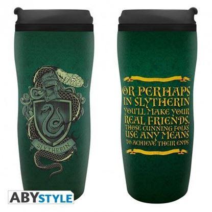 "Picture of HARRY POTTER - Travel mug ""Slytherin"""