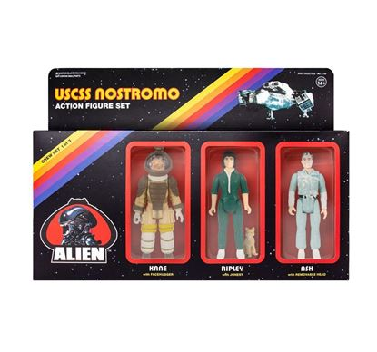 Picture of Alien Pack de 3 Figuras ReAction Pack A 10 cm