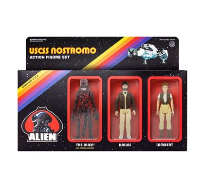 Picture of Alien Pack de 3 Figuras ReAction Pack C 10 cm