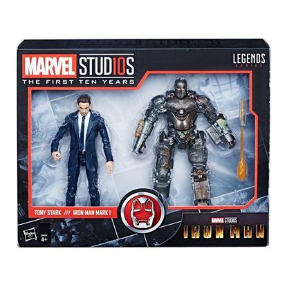 Picture of Marvel Legends Pack de 2 Figuras Tony Stark & Iron Man Mark I 15 cm