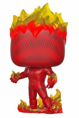 Picture of Marvel 80th POP! Heroes Vinyl Figura Human Torch (First Appearance) 9 cm. DISPONIBLE APROX: NOVIEMBRE 2019