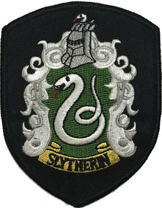 Picture of Parche Textil Slytherin (versión película) - Harry Potter