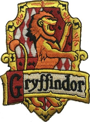 Picture of Parche Textil Gryffindor (versión libro) - Harry Potter