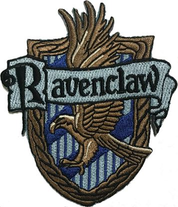 Picture of Parche Textil Ravenclaw (versión libro) - Harry Potter
