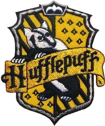 Picture of Parche Textil Hufflepuff (versión libro) - Harry Potter