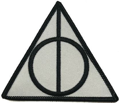 Picture of Parche Textil Reliquias de la Muerte - Harry Potter