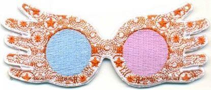Picture of Parche Textil Gafas Luna Lovegood - Harry Potter
