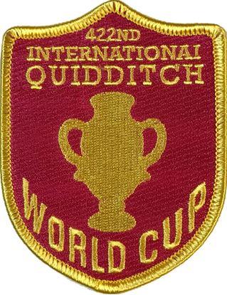Picture of Parche Textil Mundial Quidditch - Harry Potter