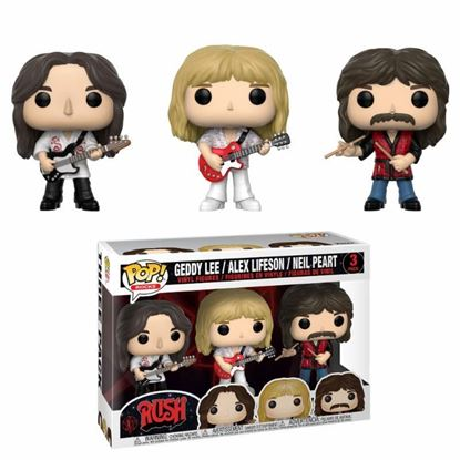 Picture of Rush Pack de 3 Figuras POP! Rocks Vinyl Geddy, Alex & Neil. DISPONIBLE APROX: SEPTIEMBRE 2019